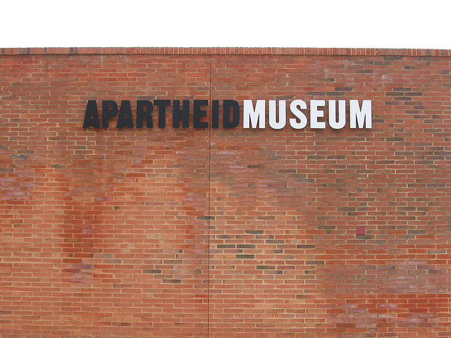 Apartheid Museum in Johannesburg  South Africa is unfortunately infamous for the period of time called apartheid, in which many human rights were denied to South Africans who were not white. In Johannesburg, you should visit the Apartheid Museum if you would like to learn more about that sad time period.